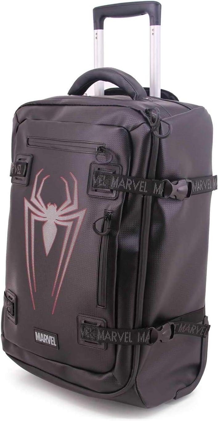 KARACTERMANIA Spiderman -Maleta TPU, Negro