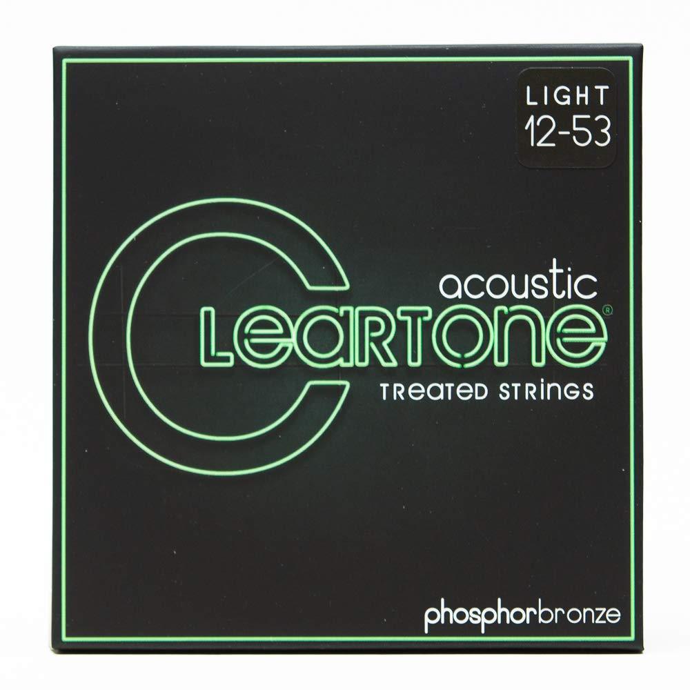 Cleartone 7412 - Cuerdas de guitarra acústica, calibre 12-53 ...