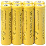 Best 18650 Batteries - 8 Pcs/Pack 3.7V 18650 9800mah Li-ion Rechargeable Battery Review
