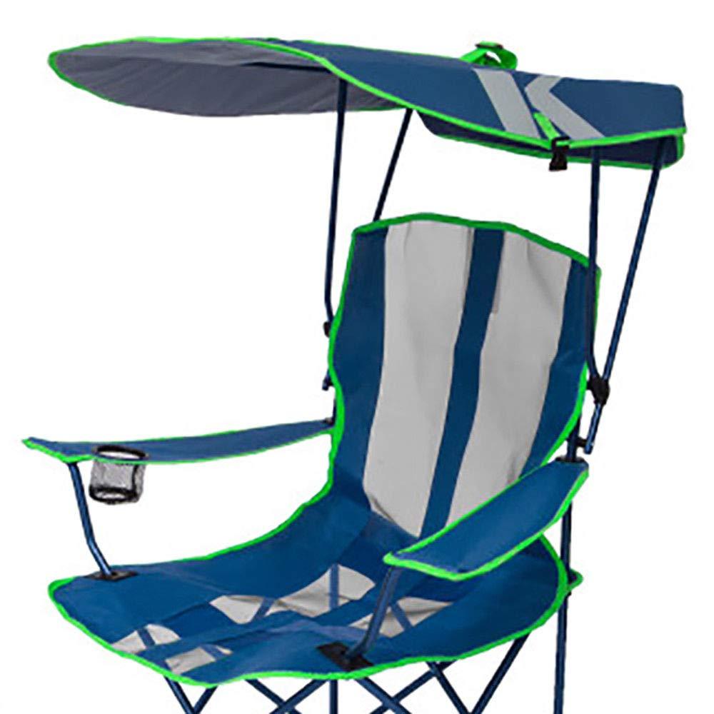 Original Canopy - Silla de Camping con otomano, Azul Marino y ...
