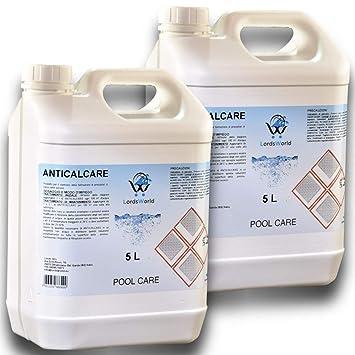 Lordsworld Pool Care - 10Lt (2 X 5Lt) Anti-caliza líquido previene ...