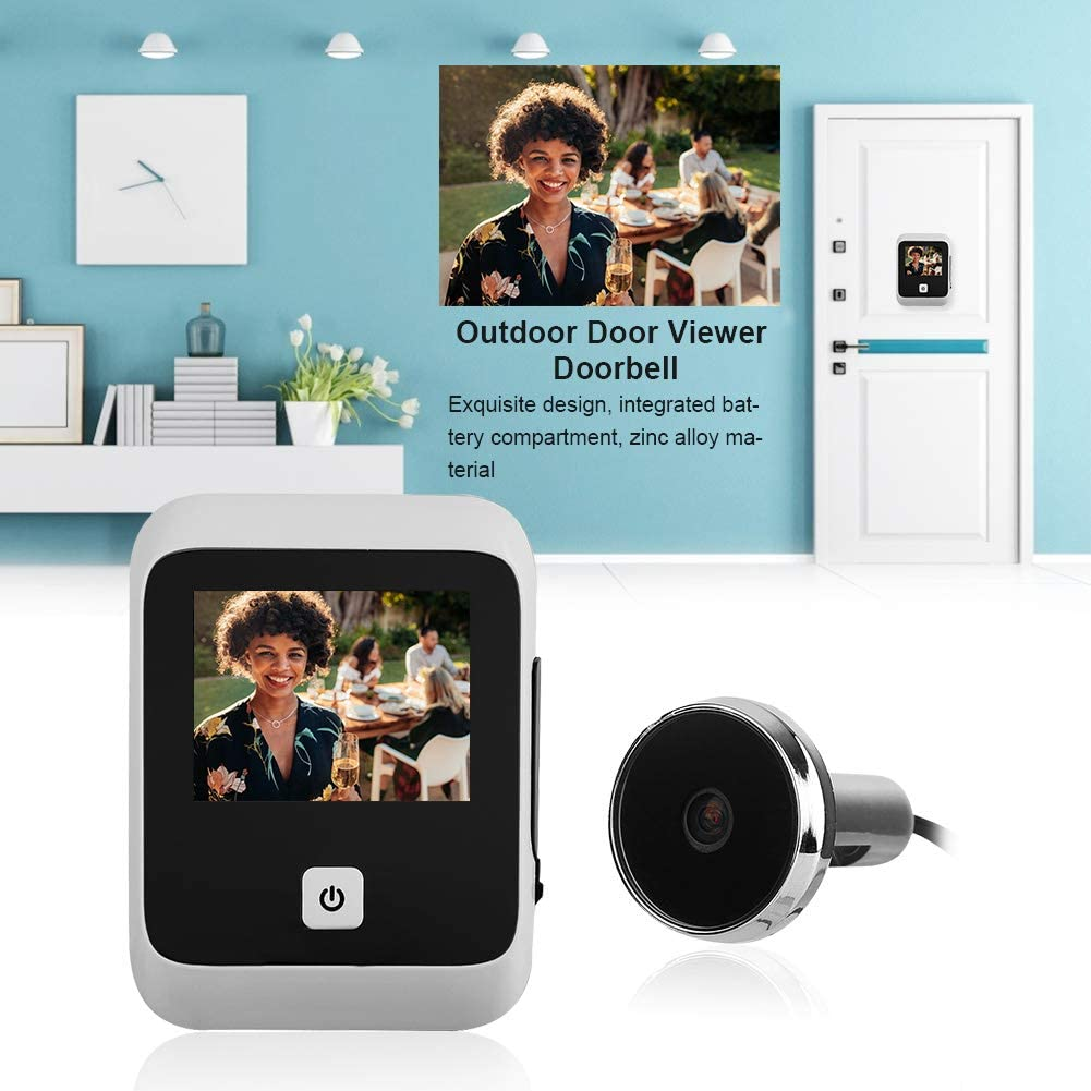 3.0 Inches Intelligent Electronic TFT HD Video 120/° Safety Door Viewer Doorbell with Night Vision Wide-Angle Lens for Home Security Smart Door Viewer Camera