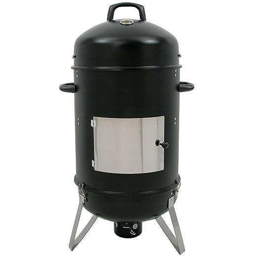 BBQ-Toro Hickory Ahumador XL, 46 cm de diámetro, horno para ahumar ...