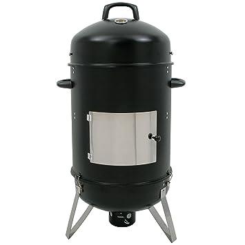 BBQ-Toro Hickory Ahumador XL, 46 cm de diámetro, horno para ahumar,