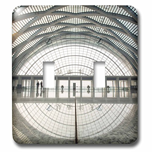 Danita Delimont - Architecture - China, Tianjin, Reflections inside theTianjin West Railway Station - Light Switch Covers - double toggle switch (lsp_225577_2) (China Station Railway)
