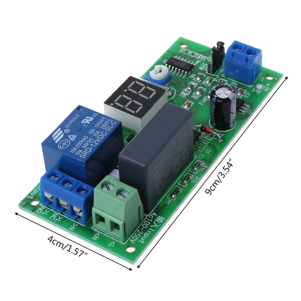 Qiulip Interrupteur temporis/é 220 V CA