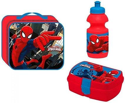 Spiderman 55727254 - Juego de merienda 3 en 1 de Spiderman: Amazon ...