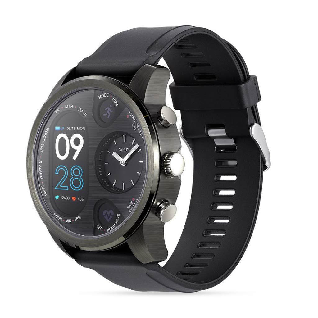 Amazon.com: Men Smart Watch, T3 Pro Smart Watch Dual Time ...