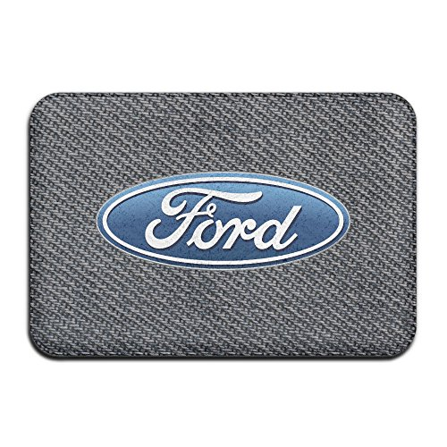 American Ford Go Further Non-Slip In/outdoor Doormats 4060 White