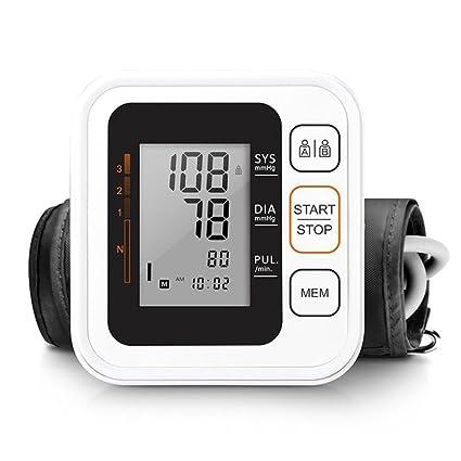 ZCCZ Brazo Tipo electrónico Sphygmomanometer Negro casa Inteligente Opcional Voz 中文版 tensiómetro Pantalla Grande