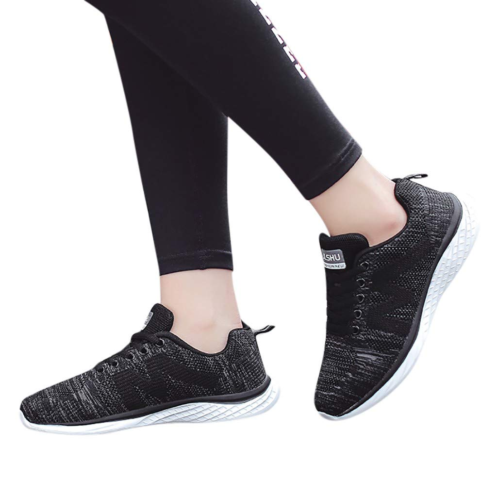 Amazon.com: YKARITIANNA Fashion Womens Flying Weaving Mesh Sneakers Casual Shoes Student Running Shoes: Arts, Crafts & Sewing