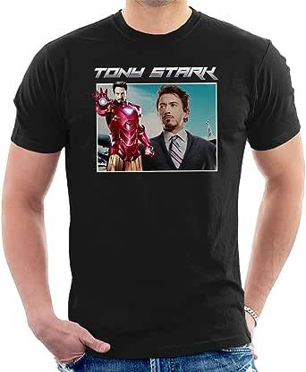 Coto7 Tony Stark Iron Man Tribute Montage Men's T-Shirt