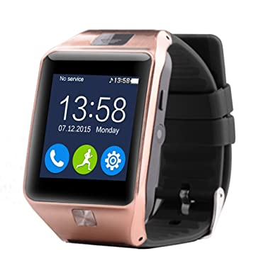 aiwatch Smart Watch Z20 Bluetooth muñeca Smart Relojes con FM vídeo, Facebook, podómetro,