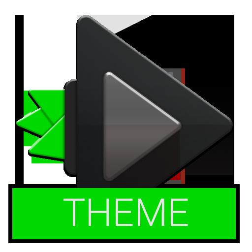 Rocket Player Black + Green Theme ()