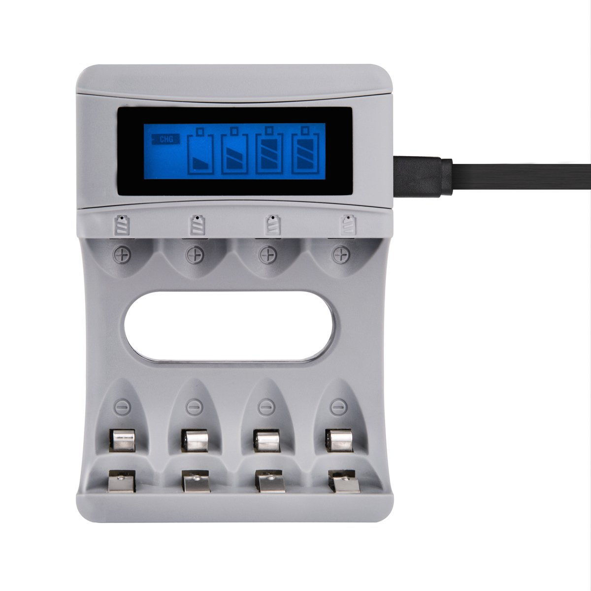 Tycipy Battery 4 Bay Usb Charger For Ni Mh Cd Aa Aaa Rechargeable 12v Nicad 200ma H Product Details