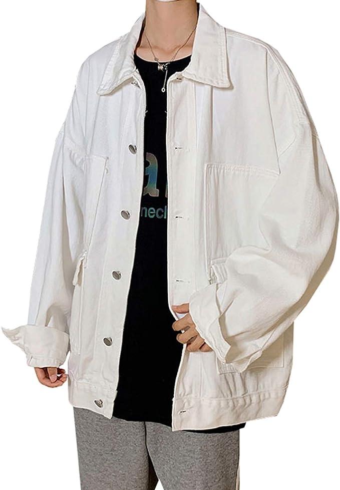 M-5XL Gジャン デニムコート メンズ 春秋 大きいサイズ ストレッチ ゆったり ファッション カッコイイ 合わせやすい 通勤 通学 お出かけ 防風 防寒 ジージャン ジャケット 3色選べる