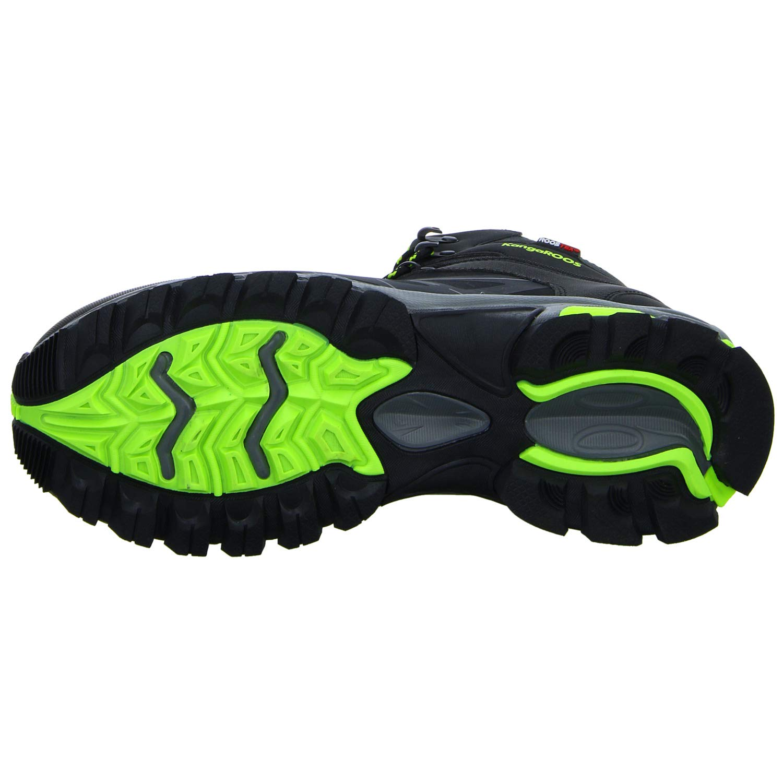 KangaROOS 81067 Senderismo 000 5008 - Zapatillas de Senderismo 81067 de Sintético para Hombre Negro Negro (Negro) a34474