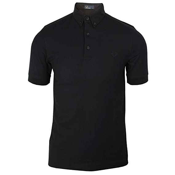 6ba1f14c Fred Perry Oxford Trim Pique Shirt, Polo Shirt: Amazon.co.uk: Clothing