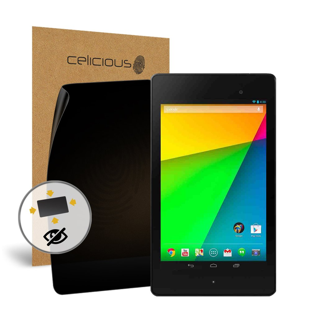 Celicious Privacy Plus 4-Way Anti-Spy Filter Screen Protector Film Compatible with Google Nexus 7 (2013) by Celicious