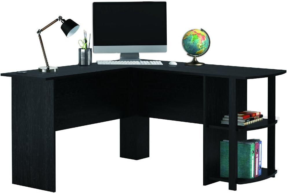 Escritorio de oficina en forma de L para computadora, mesa grande ...