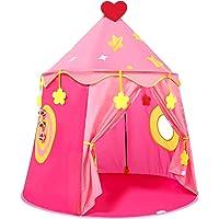Peradix Lekhus leka tält Barn tält för Pojke och flicka, pop-up Spela tält Med handväska, Present julklapp till barn…