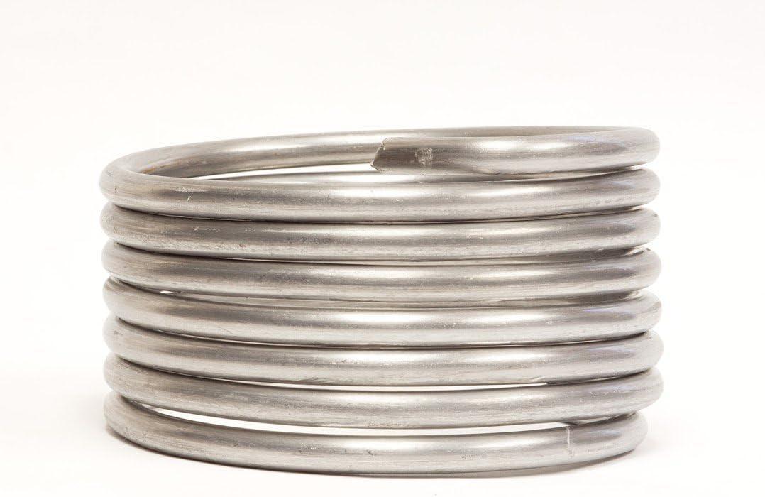 Aluminum Armature Wire 3//8 Inch 10 FT Coil