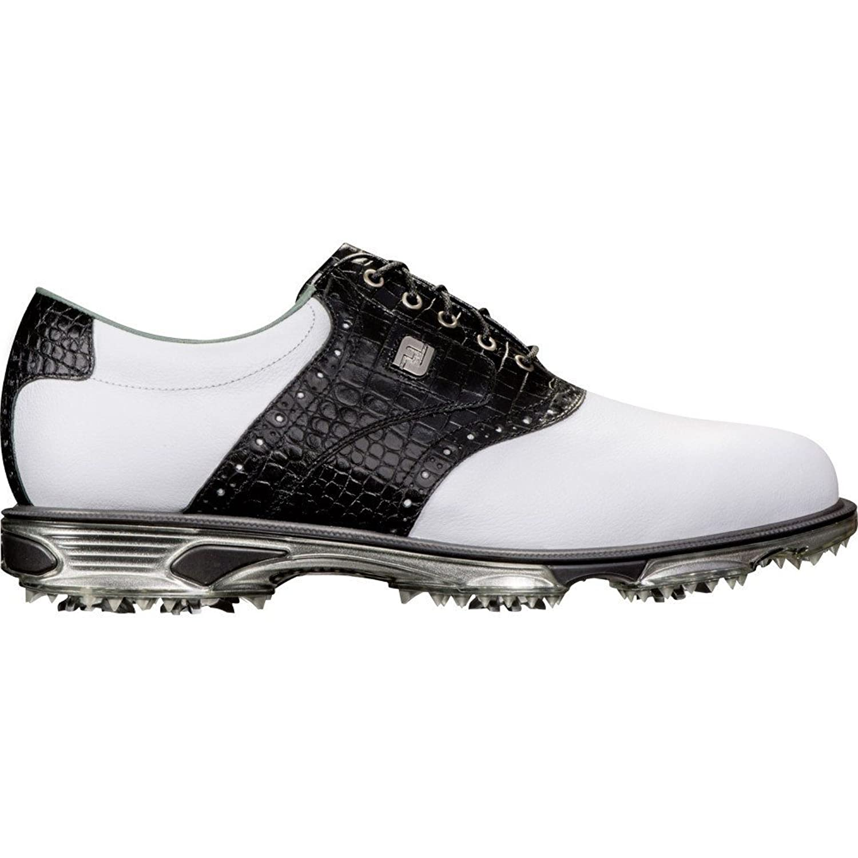 (フットジョイ) FootJoy メンズ ゴルフ シューズ靴 DryJoys Tour Saddle Golf Shoes [並行輸入品] B079STZ5GP 11.0-Wide/2E
