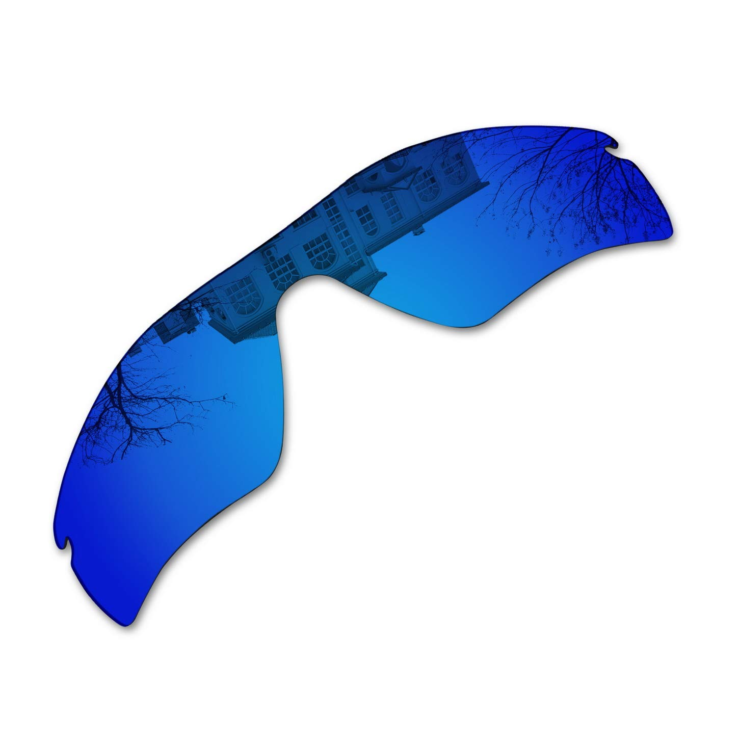 Millersawp Radar Path Replacement Lenses Compatiable with Oakley Sunglass-Dark Blue Iridium by Millersawp
