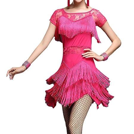 Falda de baile de las mujeres Mujeres vestido de baile latino de ...