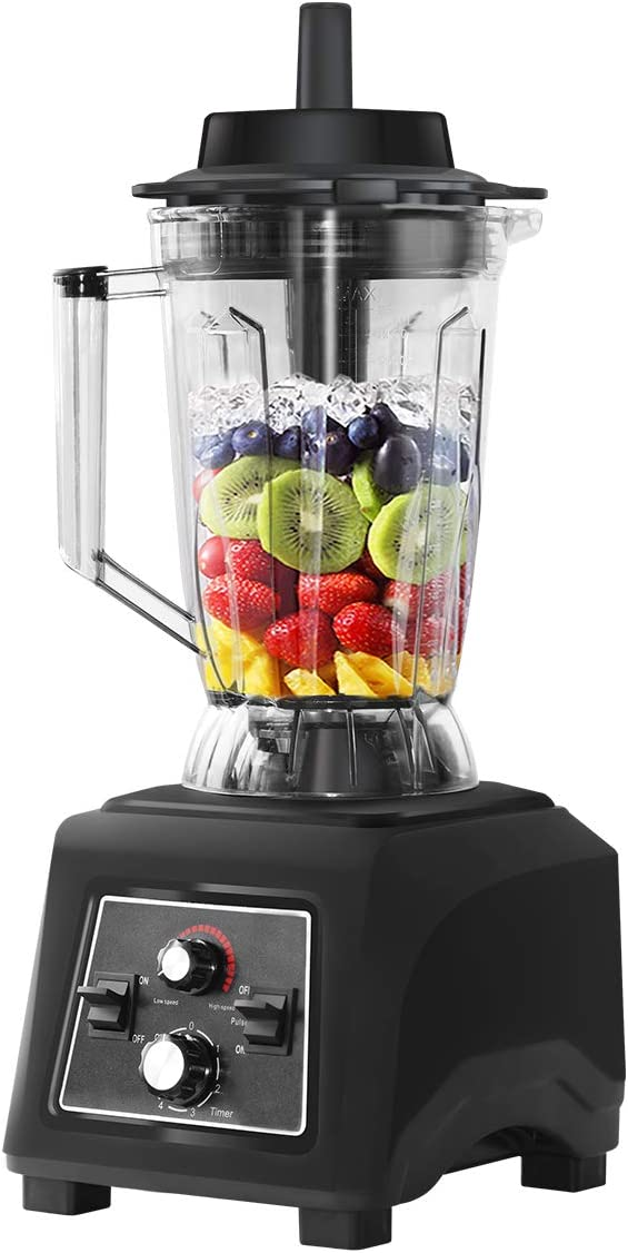 WantJoin Commercial blender Professional Blender for Ice Smoothie Super volume 3500ML(105oz), 45000 RPM High Speed blender