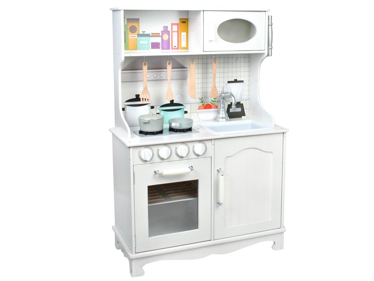 MALATEC Holz Kinderküche Weiß