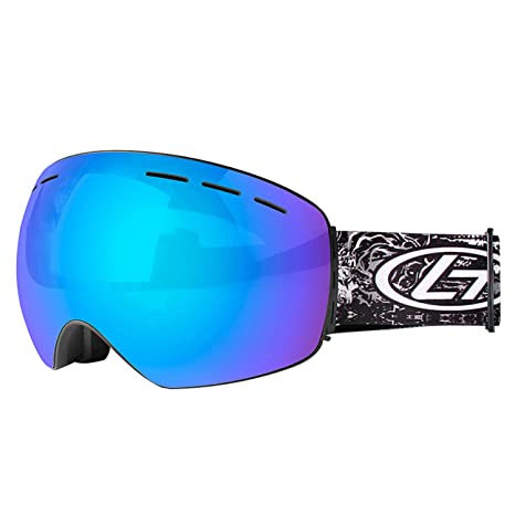 85d3501d38 TEX Ski Goggles S2 Double Lens OTG Anti-Fog Windproof UV400 Protective  Glasses for Youth