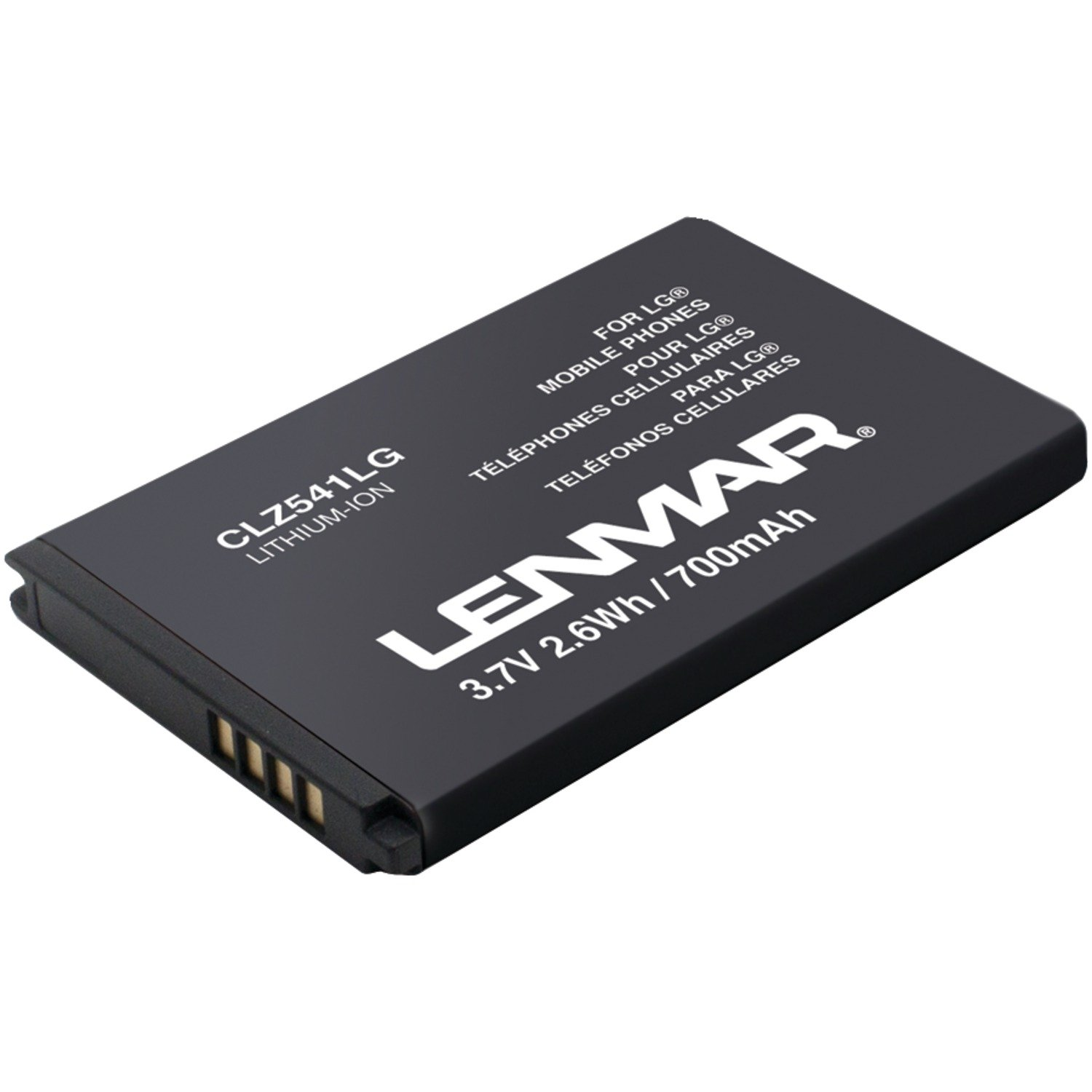 LG Cosmos 2 and LG V251 Battery Replacement for OEM BL-46CN, ML-LG137 by Lenmar