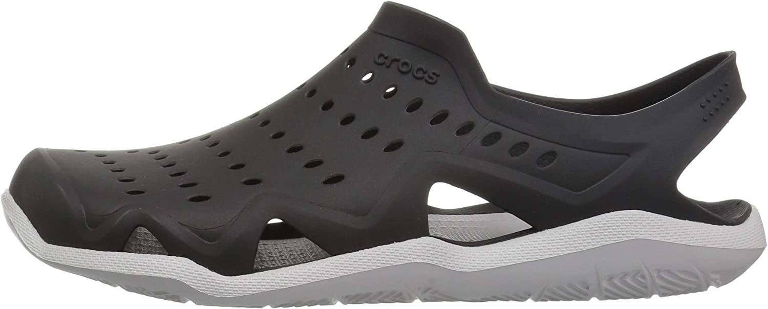 Crocs Mens Swiftwater Wave Sandal Flat Water Shoes