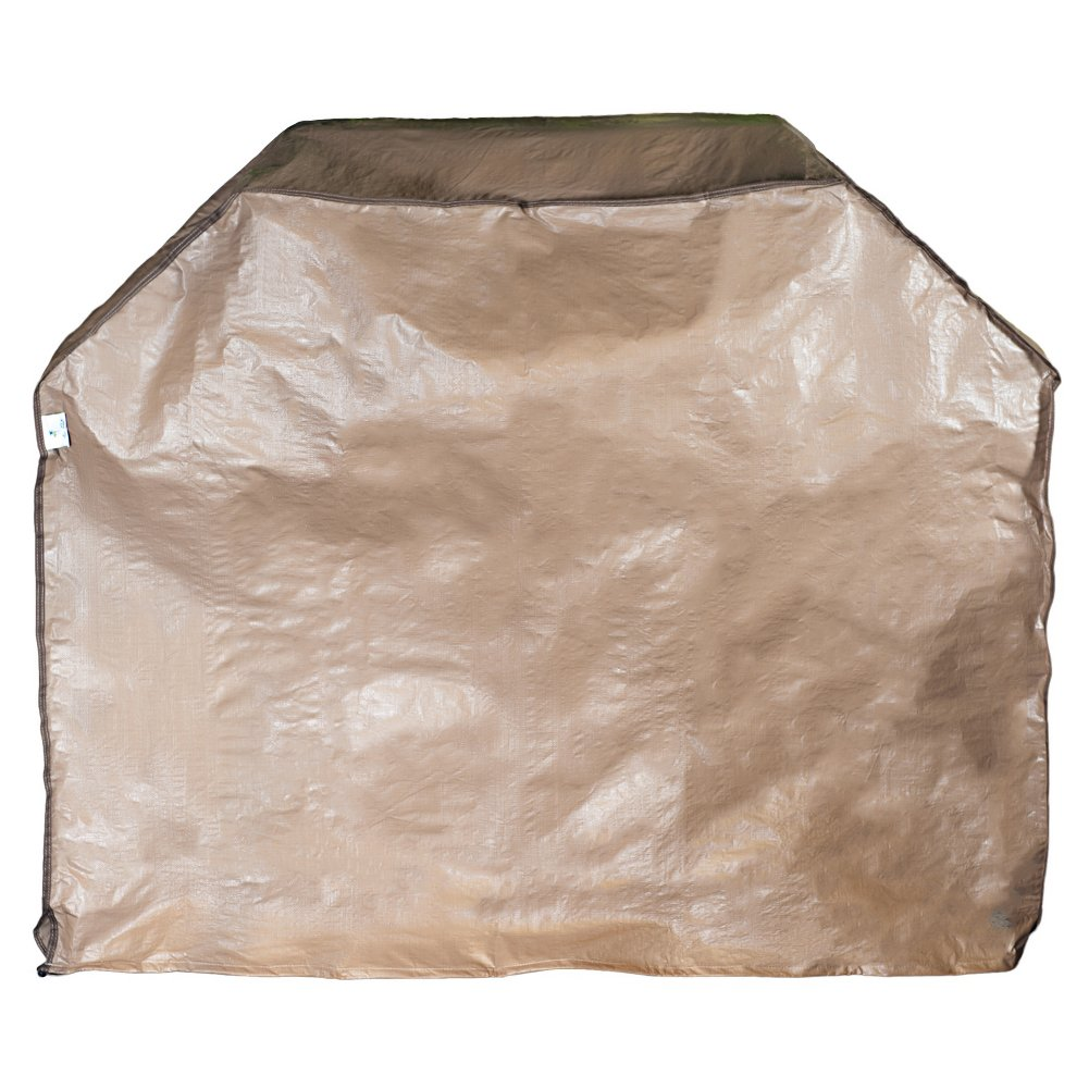 Abba Patio Gas Grill Cover, 53-inch Water Resistant BBQ Grill Cover, Brown by Abba Patio (Image #2)