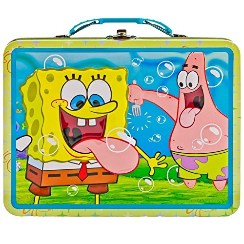 Spongebob Squarepants - Sticking Out Tongues Metal Lunch Box (Design may vary)