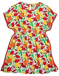 Mickey Mouse Fruit Dress For Women - Summer Fun White