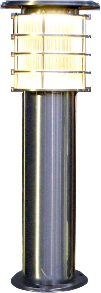 システック ソーラーポールライト 60cmタイプ 電球色/クリアカバー SPL-06-OR-CL