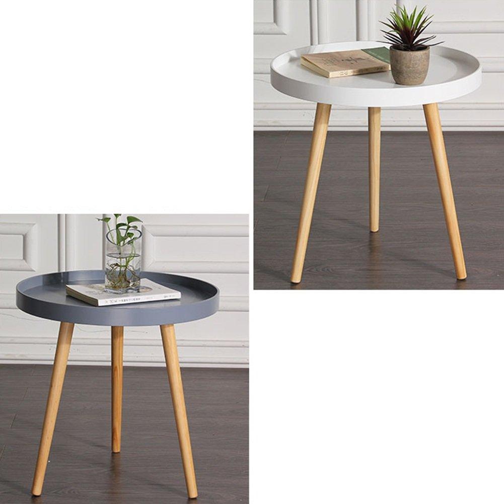 Amazon.com: HAIPENG – Pequeñas mesas de madera para sofá de ...