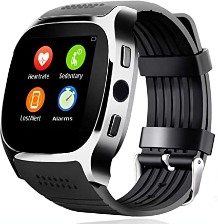 Smart Watch Wrist Watch Screen Touch Smartwatch Bluetooth Wristwatch Heart Rate Monitor Blood Pressure for Men Women Boy Girls Android Samsung S10 S9 ...