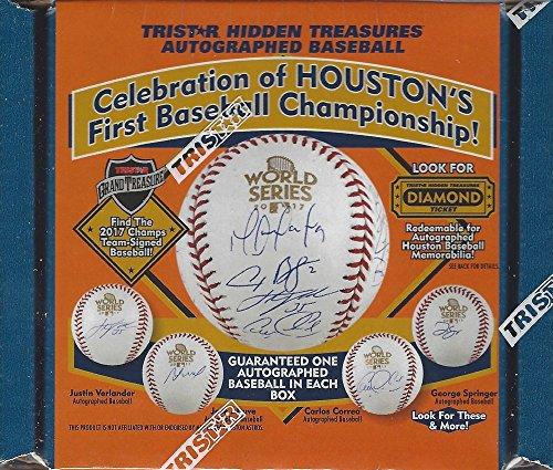 (2018 Tristar Houston Astros 2017 World Champions Autographed Baseball)