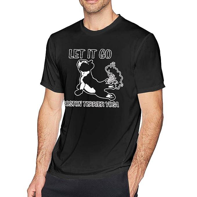 Camiseta de Manga Corta con Cuello Redondo para Hombre ...