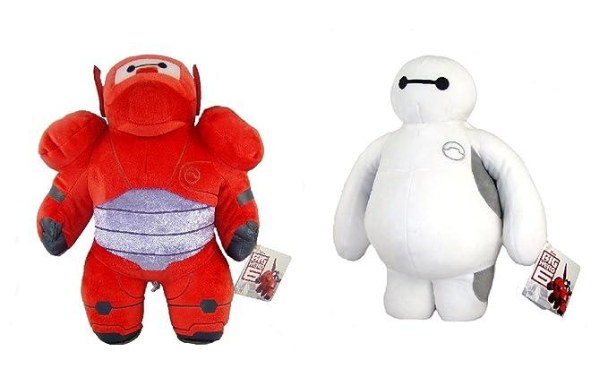 Big Hero - Pack Sac de voyage 40cm + 2 peluches Baymax 30cm qualité super soft DzOaTnlmqx