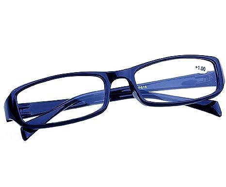 4sold Slim gafas de lectura + 0,50 + 0,75 1,00 + 1,5 + 2.00 + 2,5 + 3.5 + 4.00 marca