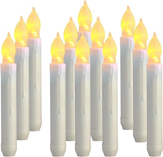 Amazon.com: Homemory - Velas LED de 6,9 pulgadas, sin llama ...