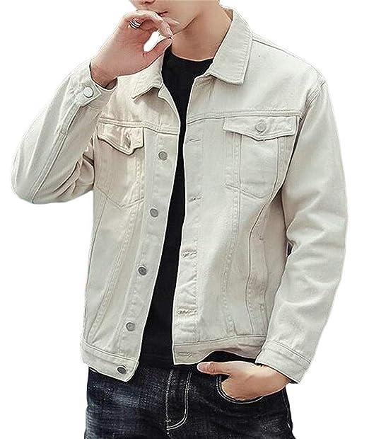 Amazon.com: Ssjjsacv - Chaqueta para hombre de estilo casual ...