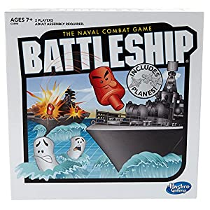 61gn9h GdFL. SS300  - Battleship With Planes Strategy Board Game For Ages 7 and Up (Amazon Exclusive)