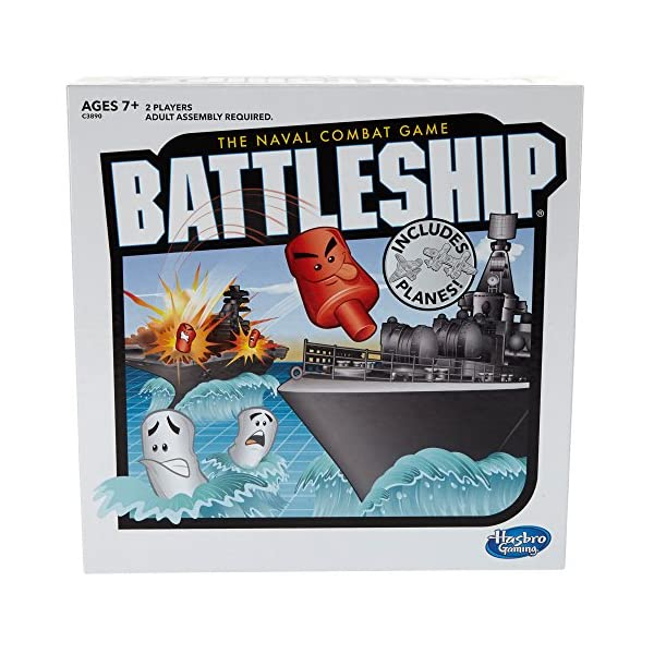 61gn9h GdFL. SS600  - Battleship With Planes Strategy Board Game For Ages 7 and Up (Amazon Exclusive)