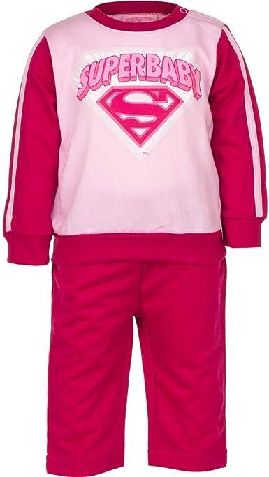 Superman - Conjunto de chándal para bebé: Amazon.es: Ropa y accesorios