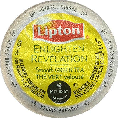 Lipton Green Tea K-Cup Soothe/Enlighten, Smooth Green Tea, - Vue Green Tea